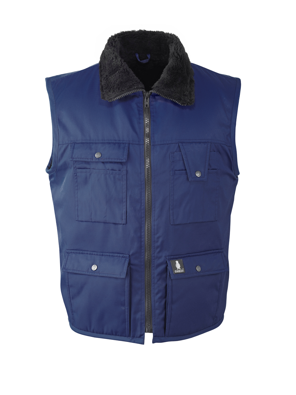 Mascot Sölden winter bodywarmer marineblauw